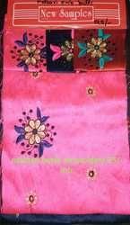 Malbari Butta Embroidery Fabrics