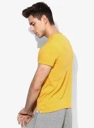 Yellow Plain T shirts