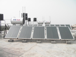 Solar Water Heater With Electric Backup