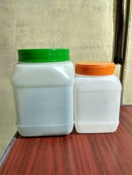 Plastic Disposable HDPE Square container, for Pharmaceutical, Box Capacity: 1-5 Kg