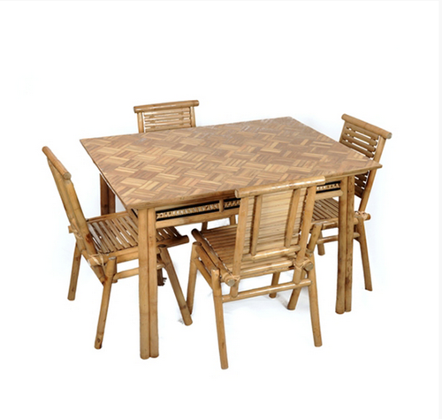 937b83abb82b Bamboo Dining Table Set - Dining Table Set Manufacturer from Navsari