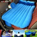 AllExtreme Multifunctional Inflatable Car Mattress for Rest, Travel, Leisure and Entertainment- Blue