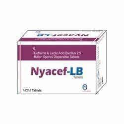 Cefixime And Lactic Acid Bacillus 2.5 Billion Spores Dispersible Tablets