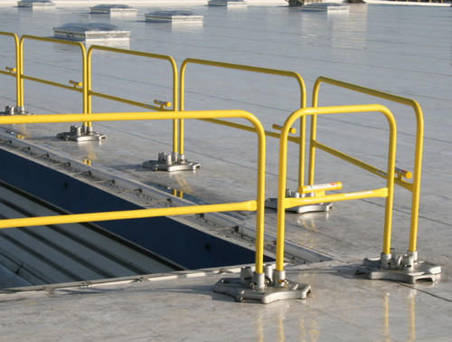 Fall Protection Temporary Guard Rails - DY Impex, Ludhiana ...