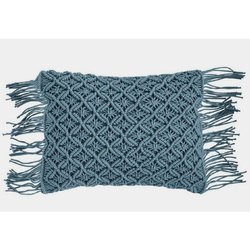 Fancy Cotton Macrame Cushion Cover