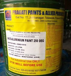 Heat Resistance Aluminum Paint 250 Dgc