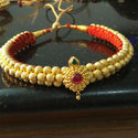 Golden Ladies Thushi Gold Necklace