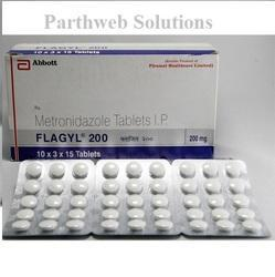 Flagyl 200mg Tablets, Packaging Type: Strip