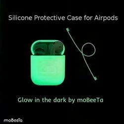 Glow In Dark Silicone Airpods Case Protective Cover