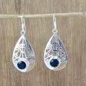 925 Sterling Silver Natural Citrine Gemstone New Designer Earring