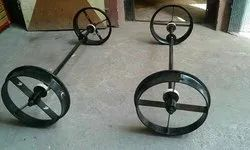 Railway Trolley Wheel