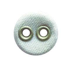 Gayatri Enterprises White Round Fabric Button, For Garments, Packaging Type: Packet