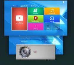 TS Projector  -HD 09 Wi Fi Smart Projector f