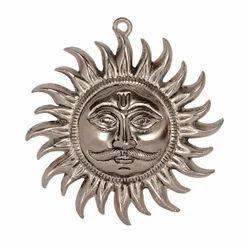 White Metal Lord Sun Hanging