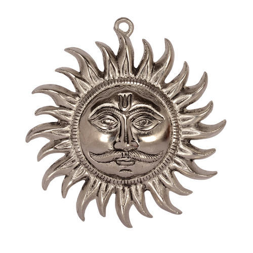 White Metal Lord Sun Hanging
