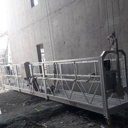 Cradle Suspended Platform For Construction