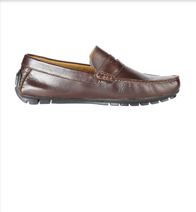 42b09653f8cc Casual Wear Van Heusen Brown Loafers Shoes