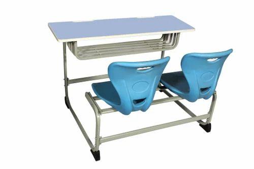 Double Desk & Bench