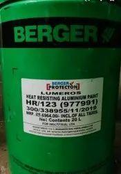 Berger Aluminium Lumeros HR 123, Packaging Size: 20 L