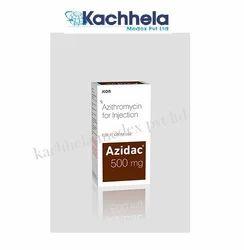 Azidac 500 mg Injection