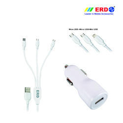 CC 40 Multi 90 White Car Charger