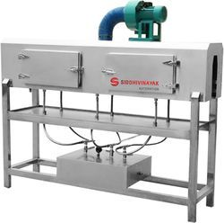 Packaging Industry Stainless Steel Steam Shrink Tunnel, 220 V
