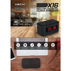 Multi Function Clock Speaker