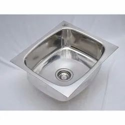 Stainless Steel Oval Bowl Kitchen Sink