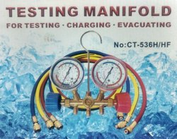Testing Manifold Gauge Set