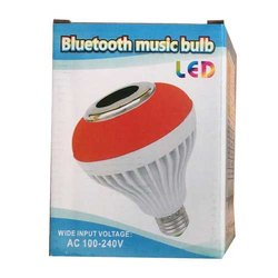 5 W Automotive LED Bluetooth Musical Bulb for Home, Voltage: 100 - 240 VAC