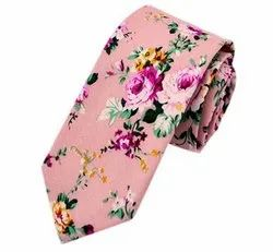 Flower Printed Ties