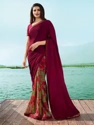 Georgget Saree