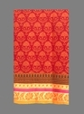 Designer Cotton Golden Zari Border Saree