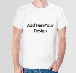 kprint Polyester White Sublimation T Shirt