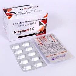 Neuromed-LC L-Carnitine L-Tartrate, Methylcobalamin & Folic Acid Tablets, Packaging Size: 10*10, Visham Lifecare
