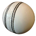 White Leather Cricket Ball (test)