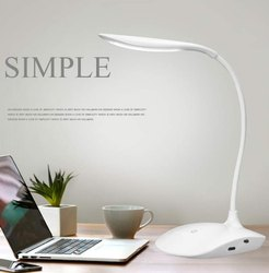 Led Rechargeable Reading Desk Lamp Usb Port At Rs 200 Piece Desk Lamp Id 21167033688