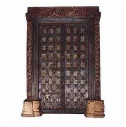 Teak Painted Haveli Door  sc 1 st  India Business Directory - IndiaMART & Teak Wood Doors सागौन की लकड़ी का दरवाजा at ...