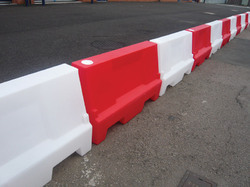 Roadway Safety Barricades