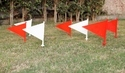 Boundary Marking Flags