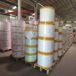 White Stock Lot Thermal Paper Jumbo Roll, Size: 80-110 kg