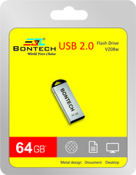 Bontech 64gb Pendrive With 6 Month Guarantee