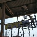 Petrol Pump Metal Ceiling Works