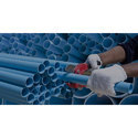 Blue HDPE Water Pipe