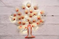 Iron White Tree With LED for Decoration