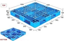 Supreme Plastic Pallet SIM121016 PDSS HW
