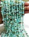 Natural Peruvian Opal Uncut Chip Beads Size 6 To 8mm Strand 34 Inches Long.