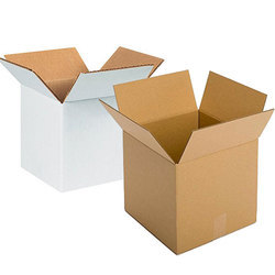 White And Brown Duplex Boxes, For Packaging