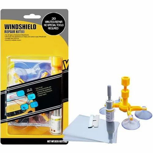 Windshield Repair Kit >> Windshield Repair Kit Tool Do It Yourself Glass Scratch Combination Cracks