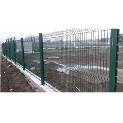 Galvanized Iron PVC Coated Chain Link Mesh Fence